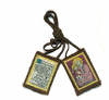 "Traditional Our Lady of Mt. Carmel "" St. Joseph"" Brown Scapular"