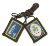 "Traditional Our Lady of Mt. Carmel "" Lourdes"" Brown Scapular"