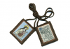 Traditional Mt. Carmel Brown Scapular w/ image of  St. Therese